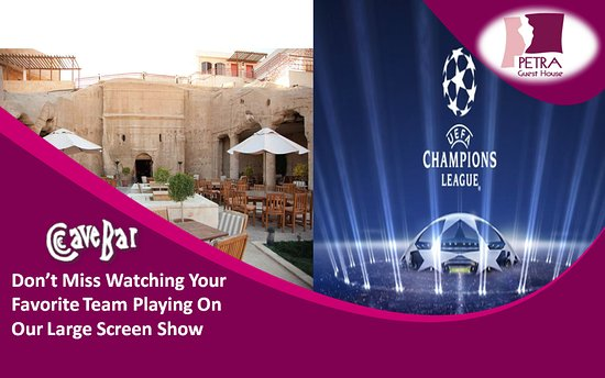 Don't Miss Watching Your Favorite Team Playing On Our Large Screen Show