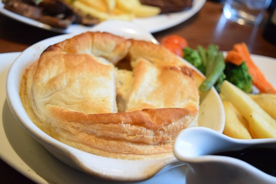 I Had A England Food For The First Time I Had A Chicken Pie It Was