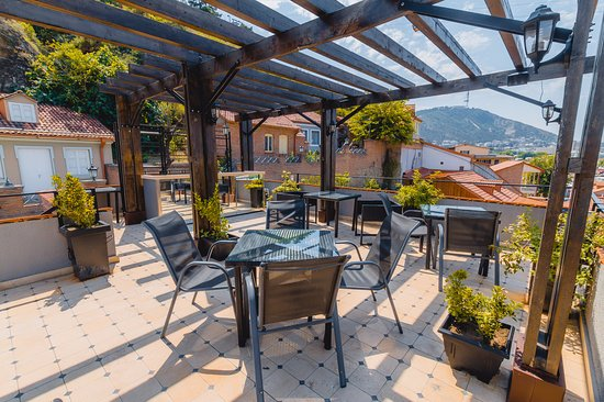 Rooftop Terrace Picture Of Hotel Citadel Narikala