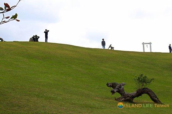 Hualien, Taiwan: Cow Mountain hillside. An amazing place along  coastal highway 11.