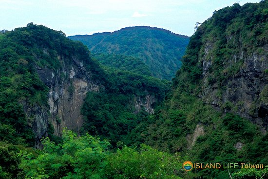 Hualien, Taiwan: Fungshuiliao Gorge. The second biggest Gorge in Taiwan. Off coastal highway 11.
