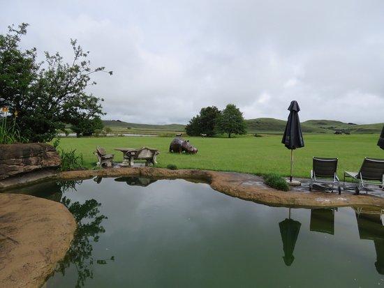 Himeville, Güney Afrika: Moorcroft Manor