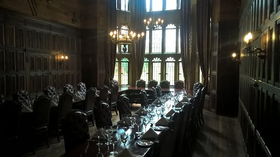 Creaton, UK: main hall, like something out of harry potter