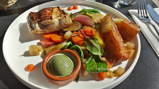 Le komptoir caud ran bordeaux restaurant avis num ro - Steak d espadon grille sauce combava ...