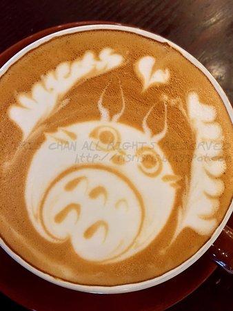 Veygo Cafe : Latte (Totoro)