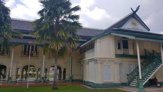 Kota Setar District, Malaysia: the back view of Balai Besar, Alor Setar