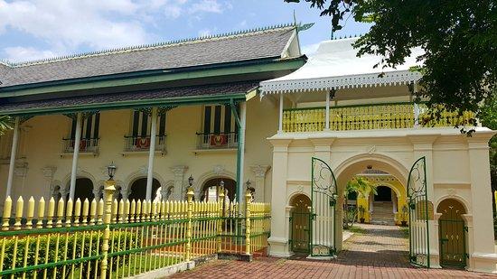 Kota Setar District, Malaysia: the side view of  Balai Besar, Alor Setar.