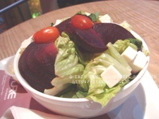Cafe O: Beetroot salad