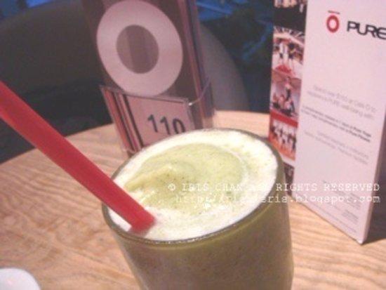 Cafe O: Green smoothie