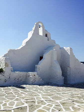 Photo of Tourist Attraction Church of Paraportiani at Kastro-paralia, Mykonos Town 846 00, Greece