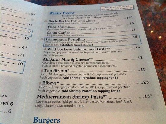 Islamorada fish company denver restaurantanmeldelser for Islamorada fish company menu
