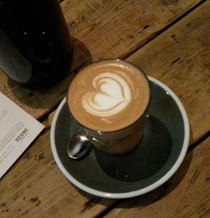 Photo of Cafe Ozone Coffee Roasters at 11 Leonard Street, London EC2A 4AQ, United Kingdom