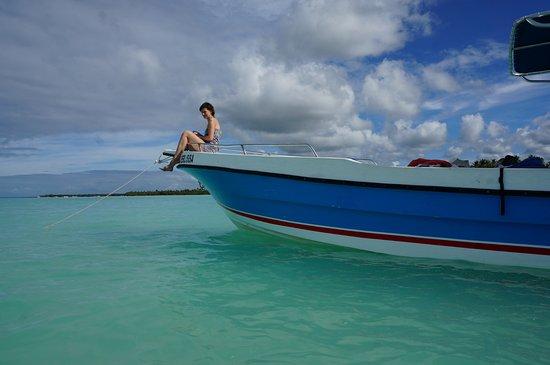 Bayahibe, Republik Dominika: Boot