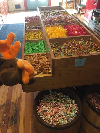 Penn Yan, Нью-Йорк: Great selection of all your favorite past and present candies!!