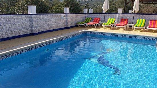 Iznajar, Ισπανία: Heated pool