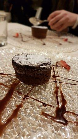 San Francesco al Campo, Italien: souffle di cioccolato