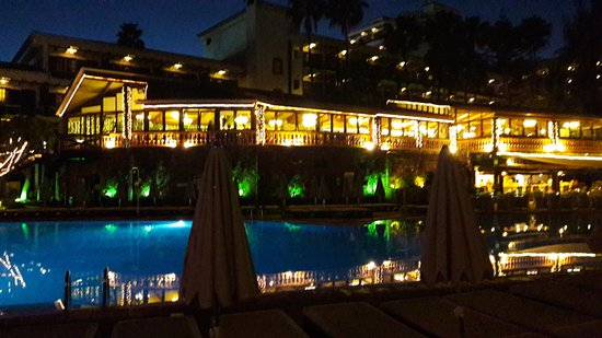 Terraza bild fr n hotel parque tropical playa del for Hotel parque valladolid