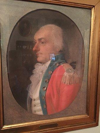 Davids Samling: Jens Juel :Adam Levin Søbøtker, oberst og generalguvernør i Vestindien og hans hustru Birgitta.
