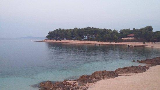 Okrug Gornji, Kroatien: the beach