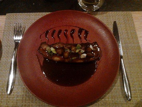 Poitrine de cochon brais e picture of brasserie les crayeres reims tripadvisor - Restaurant le jardin reims crayeres ...