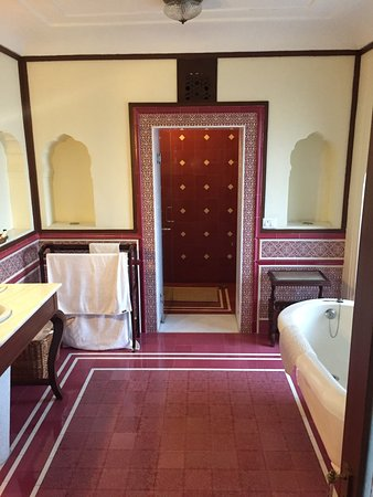 Our most excellent room at the Grand Marigold....wait wait wait, the Royal Heritage Haveli, #112