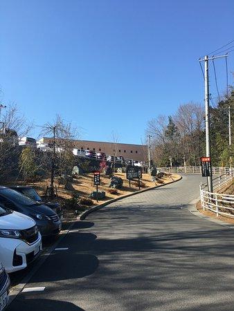 Hanno, Japan: 第二駐車場からはほんの少しだけ歩きます