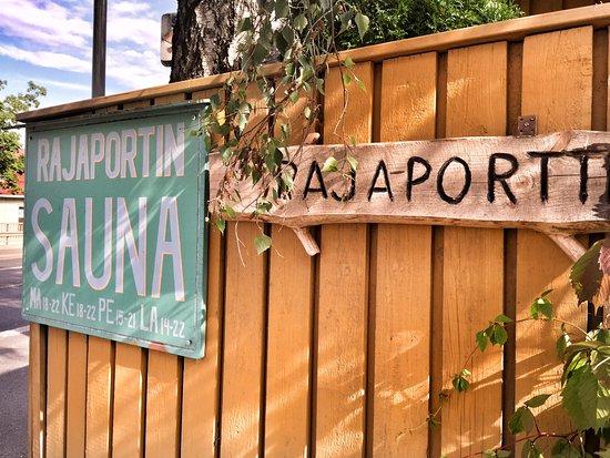 Rajaportti Sauna
