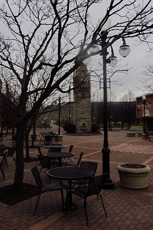 Corning, Νέα Υόρκη: The clock tower stands out!!