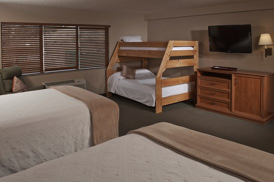 Hotel Glenwood Springs: Bunk Beds Available In Some Rooms Types.