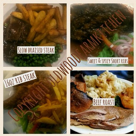 Essington, UK: Steaks and roasts