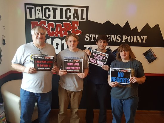Stevens Point, WI: Tactical Escape 101