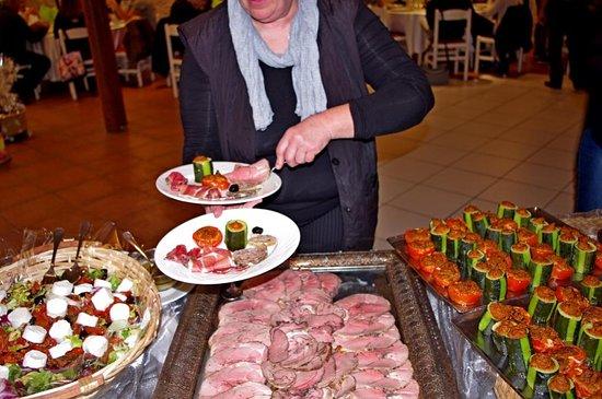Buffet d'anniversaire... Bon appétit !
