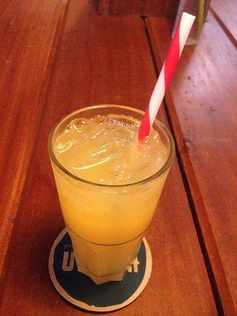Haven : Suco refrescante para o calor cambojano!