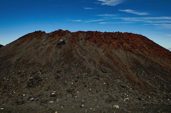Turangi, Nueva Zelanda: The very top of Mount Ngauruhoe