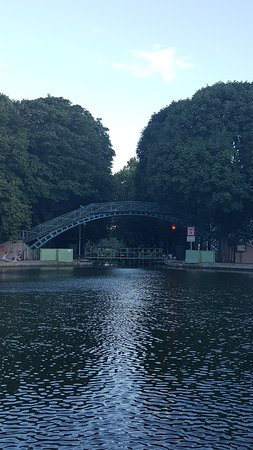 Photo of Lake Canal Saint-Martin at Paris, France