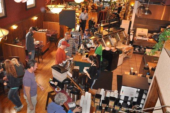 Staunton, VA: Our cozy cafe