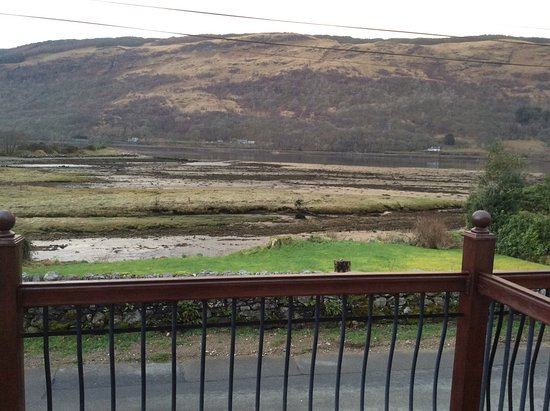 Cairndow, UK: View from chalet