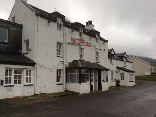 Cairndow, UK: Outside of hotel