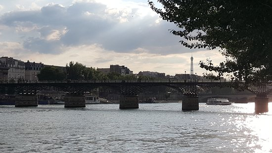 Photo of Bridge Pont des Arts at River Seine, Paris, France