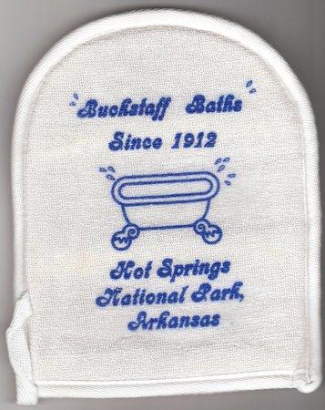Buckstaff Bathhouse: Keepsake Loofah Sponge