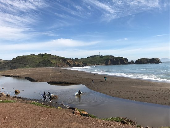 Rodeo beach and then paths to run, hike, bike - Picture of Rodeo ... | title