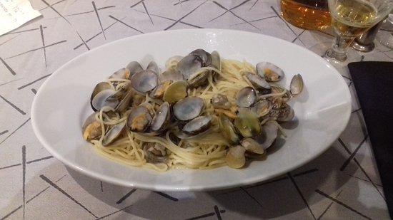 Gattatico, Italia: Spaghetti a vongole