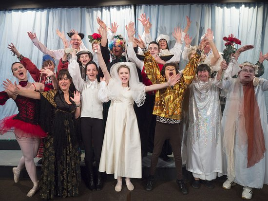 Wilmslow Guild Players' production of Dracula The Panto