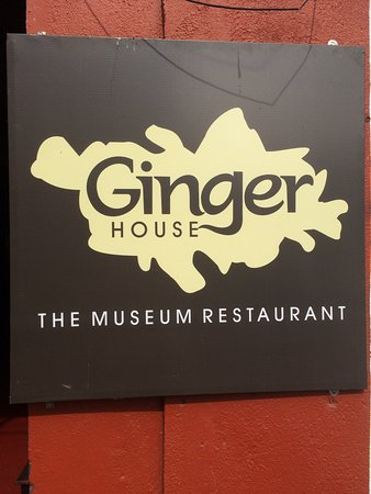 Ginger House: Look out for this sign