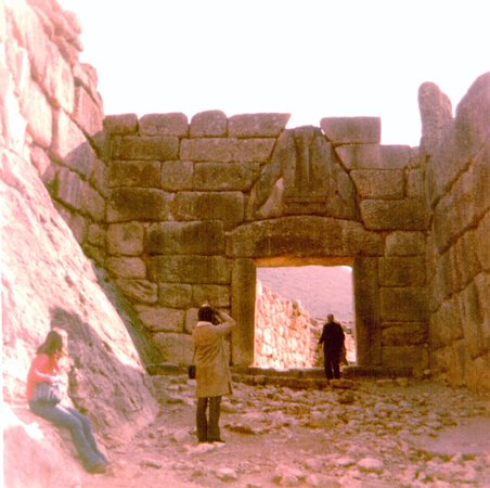 Mycenae, Greece: Lion Gate Mycaenae