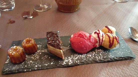 Erstein, Франция: Café gourmand
