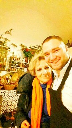 A cena con Fioretta Mari