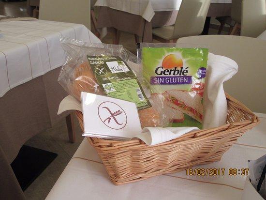 Gluten free breakfast basket picture of hotel miramar badalona hotel miramar badalona gluten free breakfast basket negle Choice Image