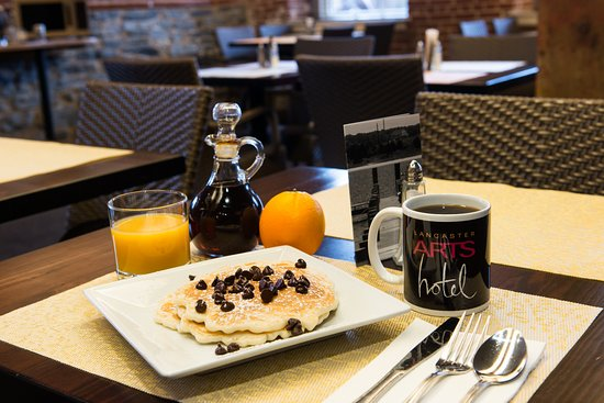 Lancaster Arts Hotel : Breakfast