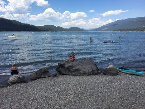 Whitefish, MT: great place to swim